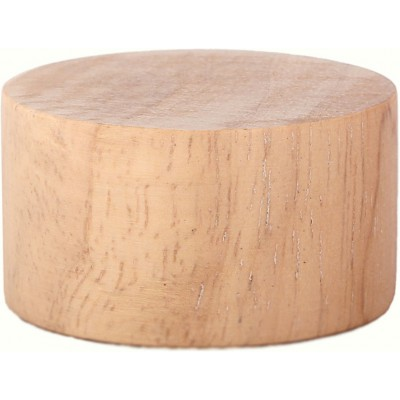 Wood Disk Endcap