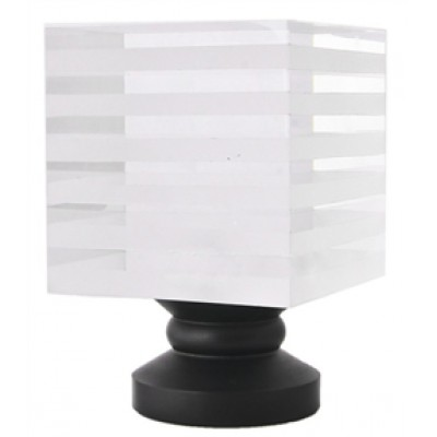 Striped Block Finial