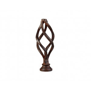 Oval Birdcage Finial