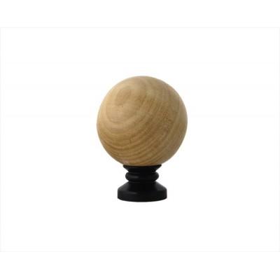 Wood Ball Finial