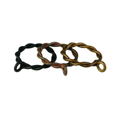 Wire Twist Ring - 50 Pack